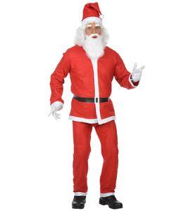 Santa Claus Kostüm - Weihnachtsmann Kostüm M/L - komplett