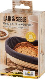 BIRKMANN Bezug für Gärkörbchen Brotbeutel Baumwolle Länglich Neu 28 cm