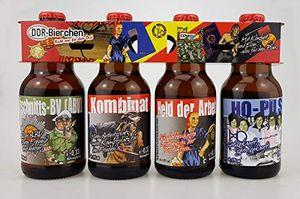 DDR Bier im witzigen Ostalgie 4er Träger Teil 3 (8,33 EUR / l)