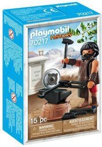 PLAYMOBIL 70217 - History Griechische Götter Hephaestus Figur mit Zubehör