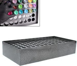 Displayhalter Stand Lagerregal  Ink Rack  Ink Große Kapazität 78 Löcher  Paint Display Stand Tattoo Supplies