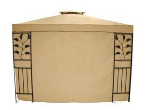 Seitenteile für Pavillon Livorno beige