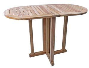 Garden Pleasure Teak Balkontisch Solo Garten Holz Esstisch Tisch Möbel klappbar