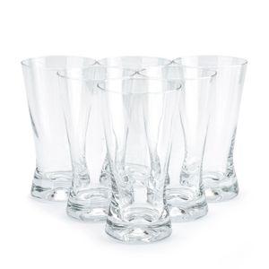 6er SET DRINKGLÄSER Cocktailgläser Saftgläser Longdrinkgläser Glas Trinkglas