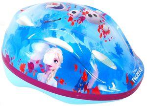Disney Frozen fahrrad-/Skatehelm blau/rosa Größe 51-55 cm