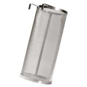 1 Stück Beer Dry Hopper Filter Silber Bier-Trockenbehälterfilter 35,5 x 15,3 cm