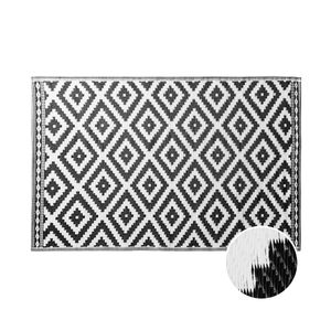 BUTLERS COLOUR CLASH In- & Outdoor-Teppich Ethno Rauten L 180 x B 118cm