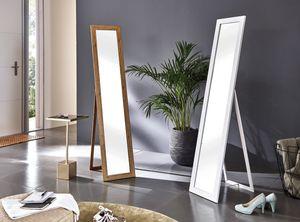 Haku Standspiegel, weiß - Maße: 34 cm x 47 cm x 156 cm; 18372