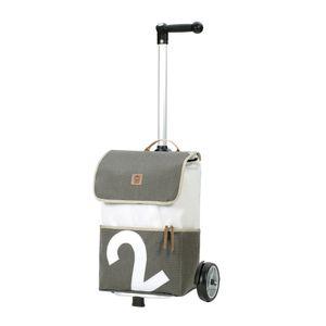 Andersen Shopper Unus und 50 Liter Tasche 360° Mole 2 grau