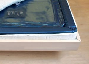 Traumreiter Wasserbettmatratze Softside Dual 100x220 cm Wassermatratze Wasserkern-Matratze Für 200x220 cm Softside Dual Wasserbett  (unberuhigt (free flow))