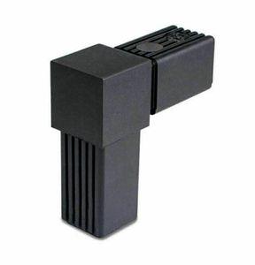 STECKVERBINDER 30x30x2 L stück VIERKANTROHRE PROFILE 30mm KUNSTSTOFF 30x30 rechter Winkel