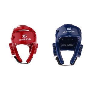 2x Boxhelm Trainingsschutz Kopfbedeckung Gesichtsschutz Training Kopfschutz