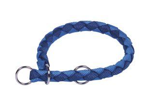 """Nobby Würger """"Corda"""" blau/hellblau L: 52-60 cm; B: 18 mm, 80705-06"""