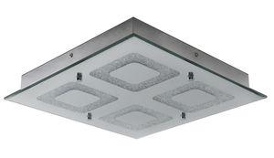 """Näve LED Deckenleuchte """"Mirror"""" - Material: Metallspiegel mit Kristallen - Farbe: chrome; 1223942"""