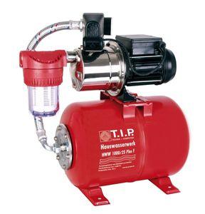 T.I.P. Hauswasserwerk HWW 1000/25 Plus F (inklusive Vorfilter) max. 3300 l/h