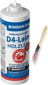 Bindan-D4 Holzleim Kunstharzleim (1-Komponenten-D4 Leim) inkl. 1 Pinsel von E-Com24 (1000 Gramm)