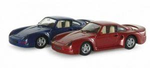 Herpa 033817 Porsche 959 HighTech, metallic 1:87