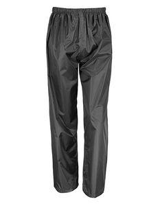 Result Core Uni Regenhose Junior Waterproof Over Trousers R226J Schwarz Black L (9-10)