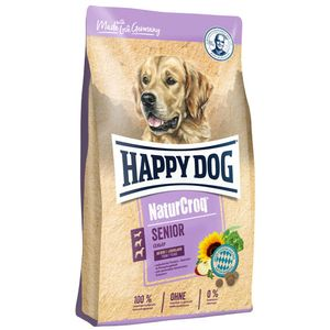 Hundefutter Trockenfutter Happy Dog NaturCroq Senior 15kg