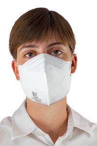 20er Pack Handanhy FFP2 NR D Atemschutzmaske - medizinisch , Inhalt:20 Stück