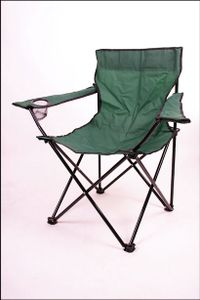 Campingstuhl in grün