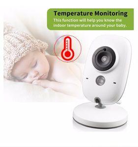 Babyphone 3,2 Zoll Smart Baby Monitor mit LCD Bildschirm Nachtsichtkamera und Temperaturüberwachung (ohne Akku)