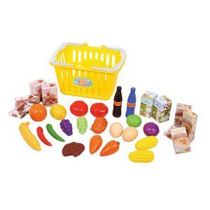 Playgo 32-teiliges Lebensmittel-Spielset im Korb 3752