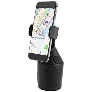 Universal Autohalterung für KFZ-Getränkehalter, Cup Mount für Smartphones bis zu 8,3cm Breite