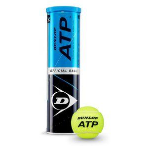 DUNLOP ATP 4er Dose Tennisbälle