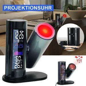 Projektions-Wecker WT 514 Technoline Projektionsuhr Wecker Weckalarm Thermometer Projektionswecker