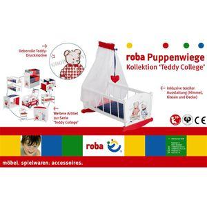 "Roba 98835 Puppenwiege ""Teddy College"""