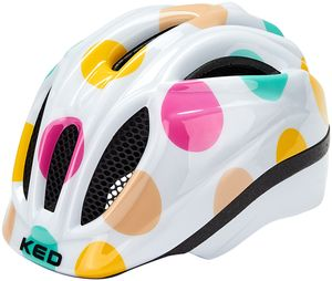 KED Meggy II Trend Helm Kinder dots colorful Kopfumfang S/M   49-55cm
