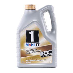 5 Liter MOBIL 0W-40 FS ACEA A3 API SN ACEA B3 ACEA B4 API CF ACEA B4 Porsche A40 MB 229.3 VW 502 00 MB 229.5 VW 505 00