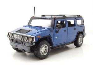 Maisto 31231 Hummer H2 Station Wagon blau 2003 Maßstab 1:24 Modellauto