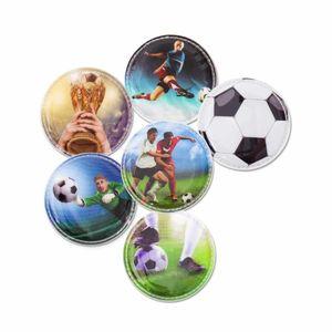 ergobag Kletties 5tlg. Set Accessoires Klettbilder mit Poster Fussball