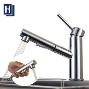 Wasserhahn Küche schwenkbar Armatur Küche mit 2 Strahlen Küchenarmatur mit ausziehbar Brause Spültischarmatur Mischbatterie Küche Chrom