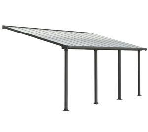 Palram Patio Cover Olympia 3X6.1 Grau Terrassenüberdachung