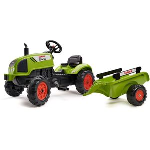 Falquet & Cie S.A.S. FALK Tret-Traktor Claas mit Hänger