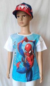 Marvel Spiderman T-Shirt Weiß- Größe 116