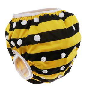 Schwimmwindeln für Baby Wiederverwendbare einstellbar für 0-3 Jahre, Größe: 20 * 20 cm 马戏团 Biene wie beschrieben