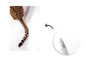 Tapeten - Fototapete - Leopard mit Leopardenmuster - 170x260 cm - Vinyl