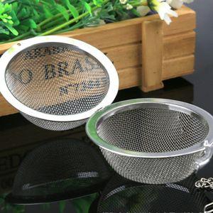 Gewürzkugel Edelstahl Teekugel Teesieb Teenetz Tee-Ei Teeei Teefilter Teeball 5 Silber 4,5 cm Durchmesser