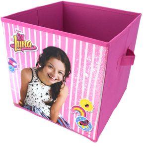 Soy Luna Spielzeugkiste Klappbox Kiste ca. 28 x 28 x 28 cm