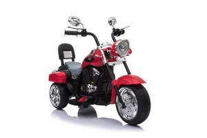 Harley Trike Chopper Kindermotorrad Elektromotorrad Kinderfahrzeug MP3 Rot (TR1501)
