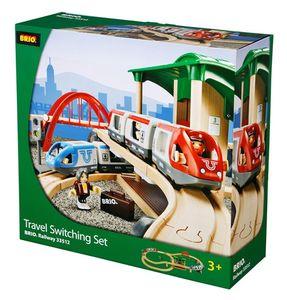 BRIO World - 33512 Großes Bahn Reisezug Set
