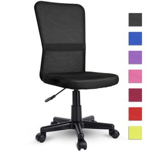 TRESKO Drehstuhl Schwarz Chefsessel Bürostuhl Drehstuhl Sportsitz Bürosessel Schreibtischstuhl