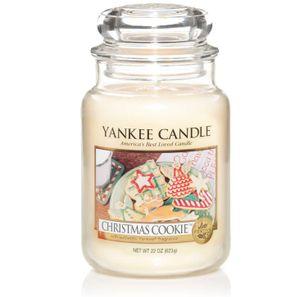 Yankee Candle Duftkerze im Glas, 623g , Christmas Cookie