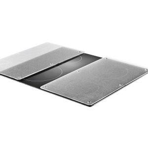 Zeller Herdabdeck-/Schneideplatten, 2-er Set, Glas 30 x 52 cm