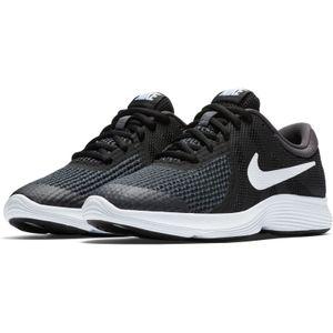 Nike Kinder Sneaker  Textil schwarz 40