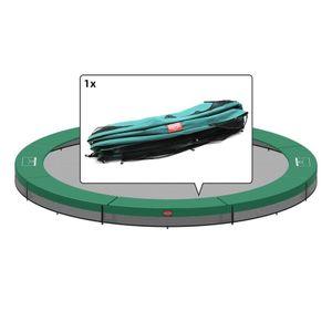 BERG Trampolin Ersatzteile InGround Favorit - Schutzrand Randabdeckung rund 330 / 6 grün